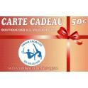 Carte Kdo 50€